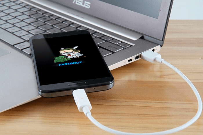 USB-connect - Fastboot - ROOT права