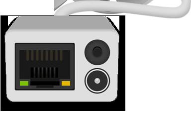 Разъем RJ-45 интернет-кабеля