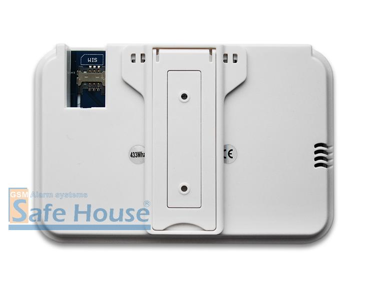 Инструкция GSM сигнализации SH-035G - Задняя панель системного блока