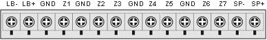 Инструкция GSM сигнализации SH-063G - Встроенная контактная колодка