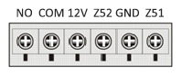 Инструкция GSM сигнализации SH-055G - Встроенная контактная колодка