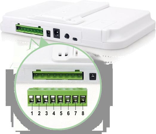 Инструкция GSM сигнализации SH-035G - Встроенная контактная колодка