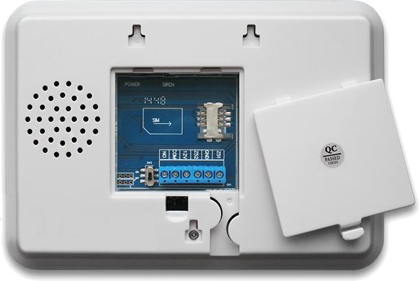 Инструкция GSM сигнализации SH-055G - Задняя панель системного блока