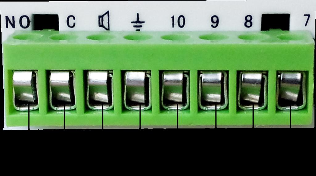 Инструкция GSM сигнализации SH-033G - Встроенная контактная колодка