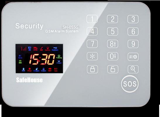 Инструкция GSM сигнализации SH-055G - обложка_ru