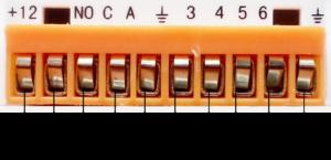 Инструкция GSM сигнализации SH-031G/2 - Встроенная контактная колодка
