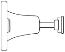 Инструкция GSM WIFI сигнализации G20 - Поворотный кронштейн датчика движения
