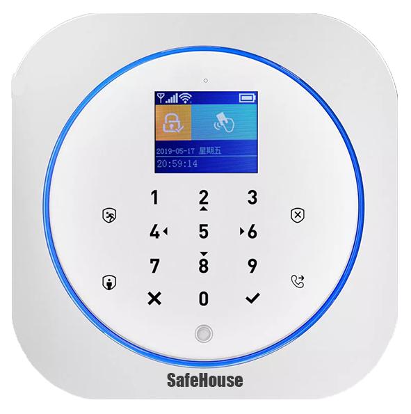 Инструкция WIFI GSM сигнализации G12
